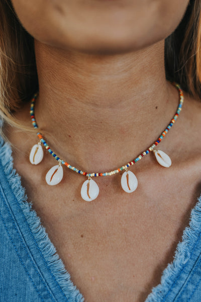 ALV Colorful Shell Necklace