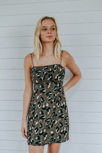 Cam Kay's Camo Dress, Green