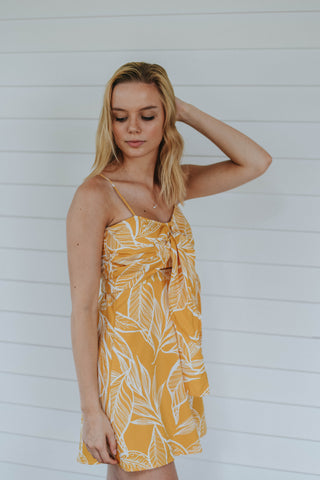 The Tropic Like It's Hot Dress, Yellow
