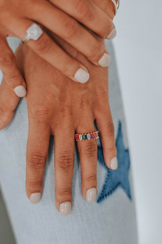 ALV Kristen Rainbow Ring