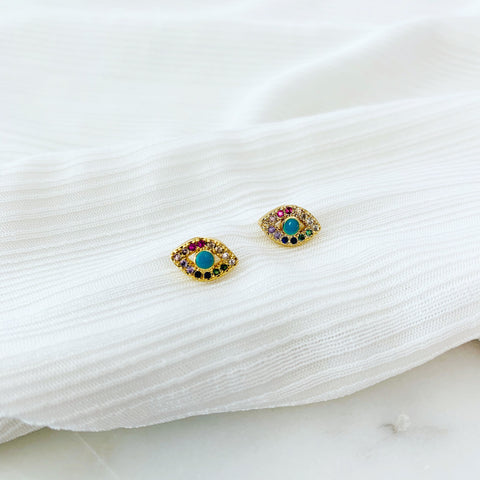 ALV Rainbow Eye Studs