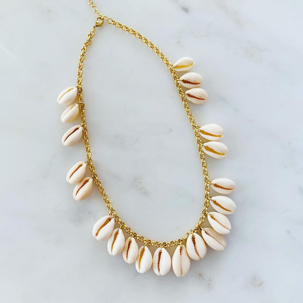 -ALV Shell Craze Necklace