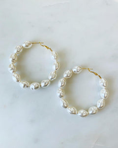 ALV XL Pearl Hoops