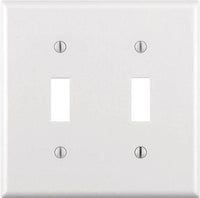 Modernswitch Modern Switch Double Toggle Light Switch Cover
