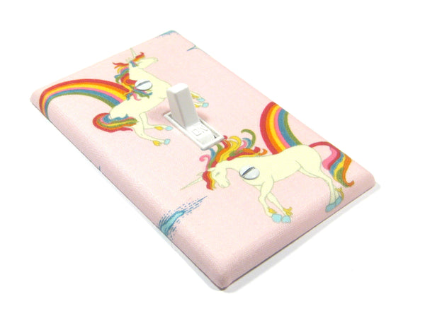 Pink Unicorn Bedroom Decor Light Switch Cover Plate