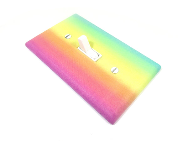 Switchplate Rainbow Nursery Decor Light Switch Cover Plate