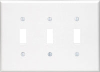 Modernswitch Modern Switch Triple Toggle Light Switch Cover