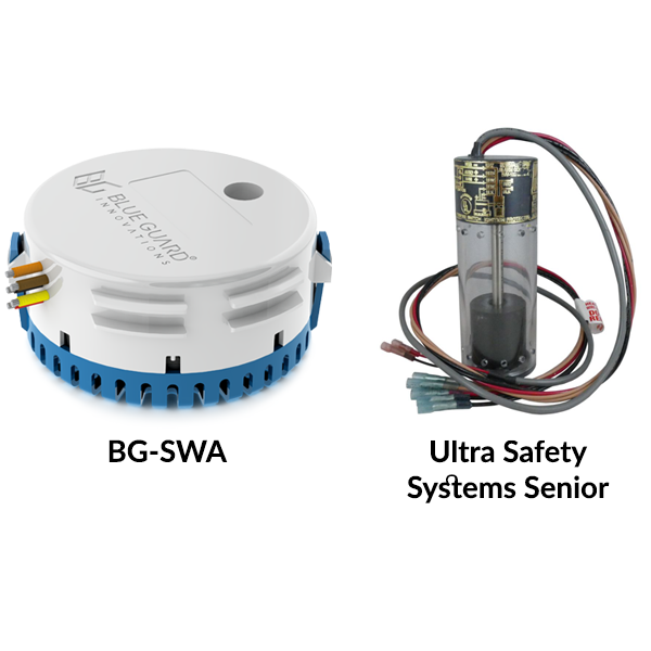 6 Advantages of Blue Guard Innovations BG-SWA over Ultra Safety Systems Senior