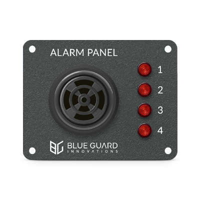 Boat Alarm Panel Four Light