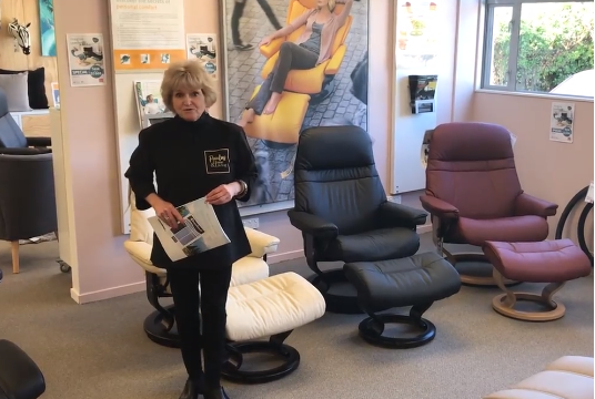 Stressless® made even easier with Judy