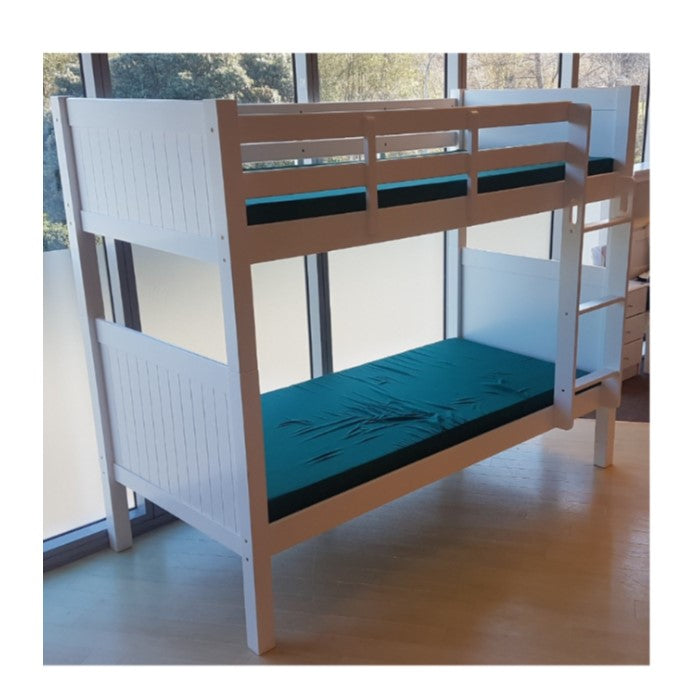 Picture of: Talia Bunk Single Or King Single White Or Walnut Suitable For Co Paulas Home Living