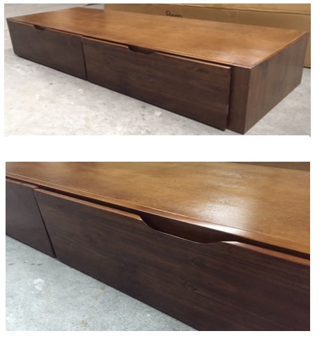 STANDARD Underbed Unit 2 Drawers