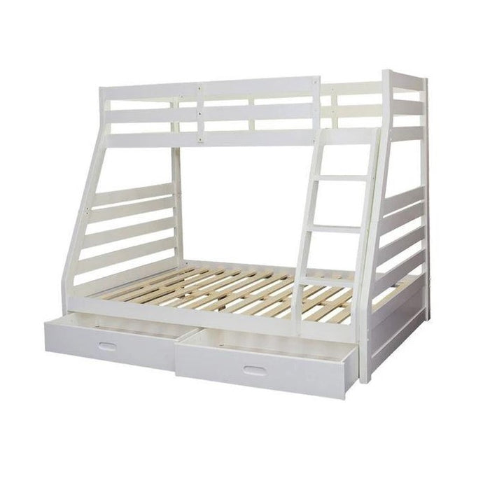 ATLANTA Bunk - Single over Double  - White or Walnut