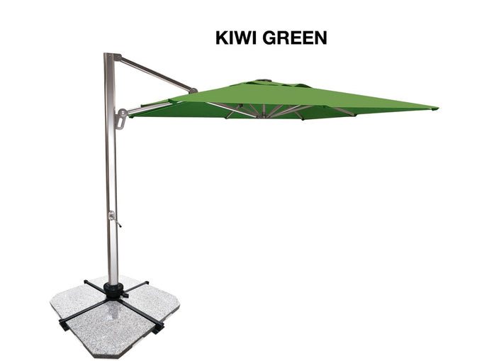 ATLAS Umbrella 3m Square Cantilever - 8 Colours to Suit