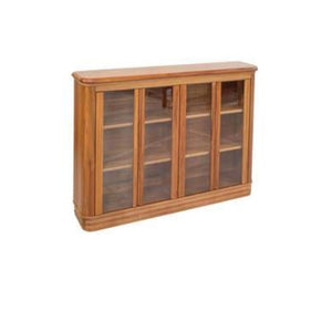 RIVIERA Bookcases 1600w x 1015h - With or Without Glass Doors