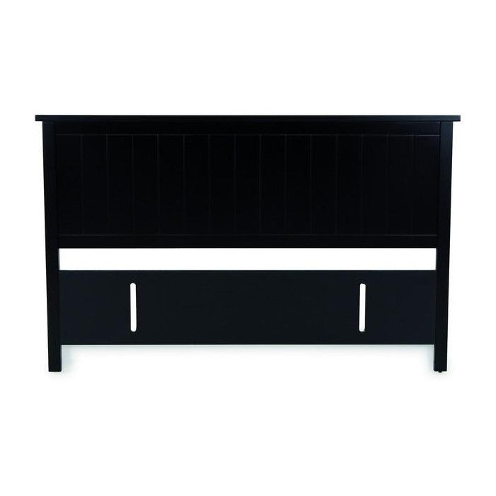 BLACK PEARL Grooved Headboard - Queen - King