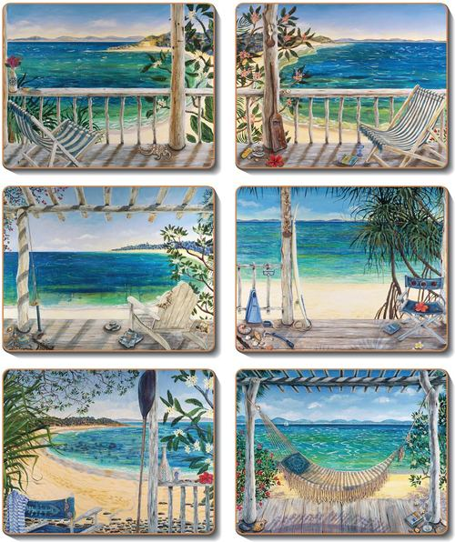 BALCONIES Coasters or Placemats