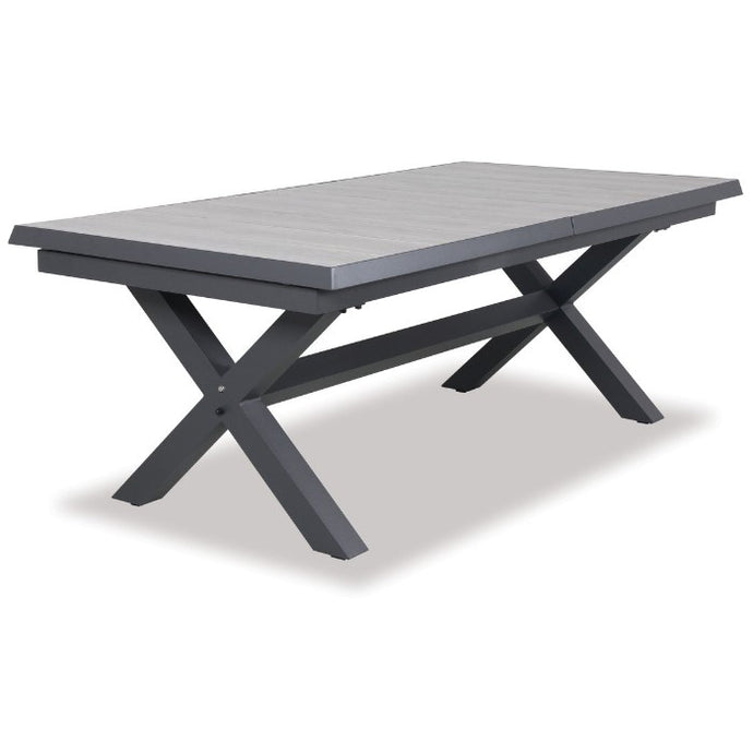 SULTAN 2070 Oblong Extension Aluminium Table - Two Colours to Suit