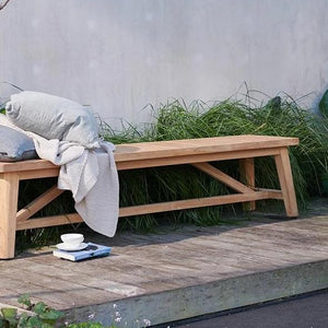 CHEVIOT Bench - Teak - Devon Lifestyle