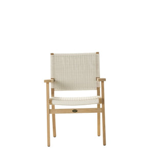 JACKSON Dining Chair Carver with Arms  - Teak - Devon Lifestyle