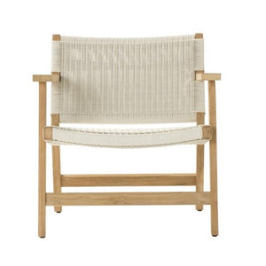 JACKSON Easy Chair, Footstool and Omaha Side Table - Teak - Devon Lifestyle