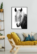 Load image into Gallery viewer, MANE Man - Framed Canvas Print