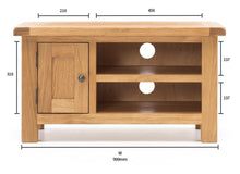 Load image into Gallery viewer, SALISBURY TV Unit Narrow - 900w
