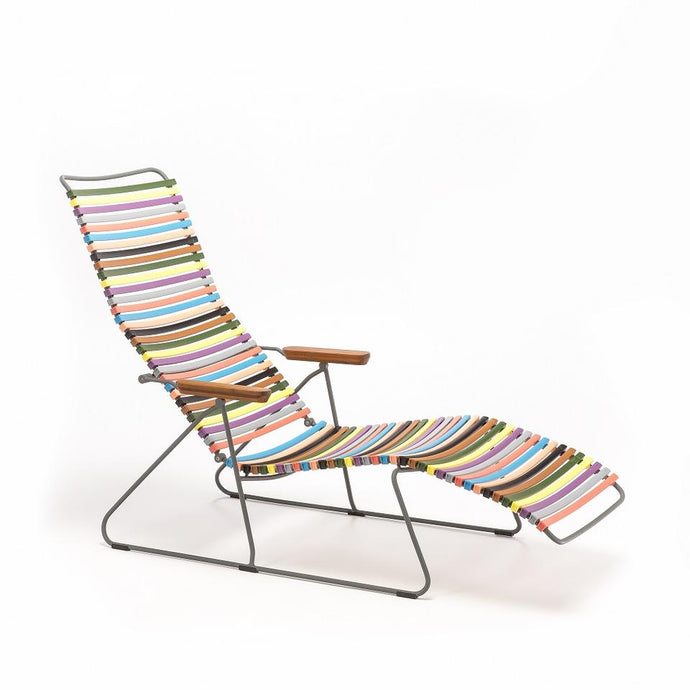 CLICK Outdoor Sunlounger - Lots of Colours to Suit