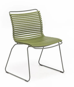 CLICK Outdoor Dining Chair without Armrests - Lots of Colours to Suit