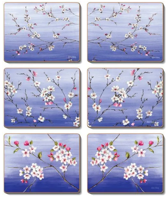 BLOSSOMS Coasters or Placemats