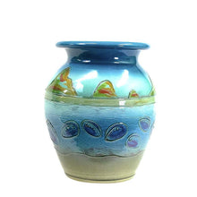 Load image into Gallery viewer, Paua Coast - Classic Pot - 2 Sizes to Suit