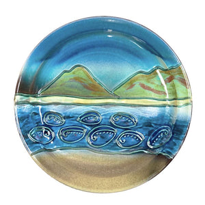 Paua Coast - Platter - 3 Sizes to Suit