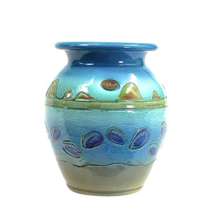 Paua Coast - Classic Pot - 2 Sizes to Suit