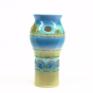 Paua Coast - Urn Pot - 3 Sizes to Suit