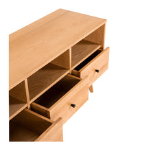 Load image into Gallery viewer, RADIUS TV 3 Unit - Oak - Two Drawer Pull options to suit