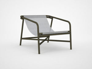 MOI SLING Chair - Brass Aluminium - 6 Colours to Suit
