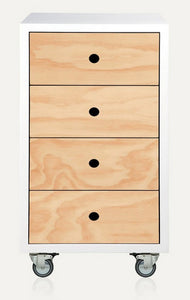 MELUKA TALLBOY 4 Drawer
