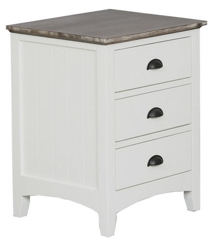TRENTON Bedside 3 Drawer