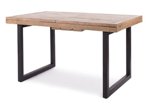 WOODENFORGE Extension Table 1400w plus x2 Bench Seats