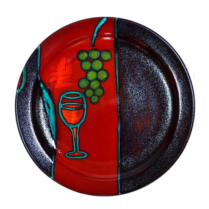 Wine Glass - Platter - 3 Sizes to Suit