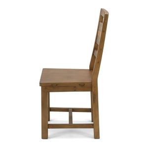 WOODENFORGE Dining Chair - Timber Seat