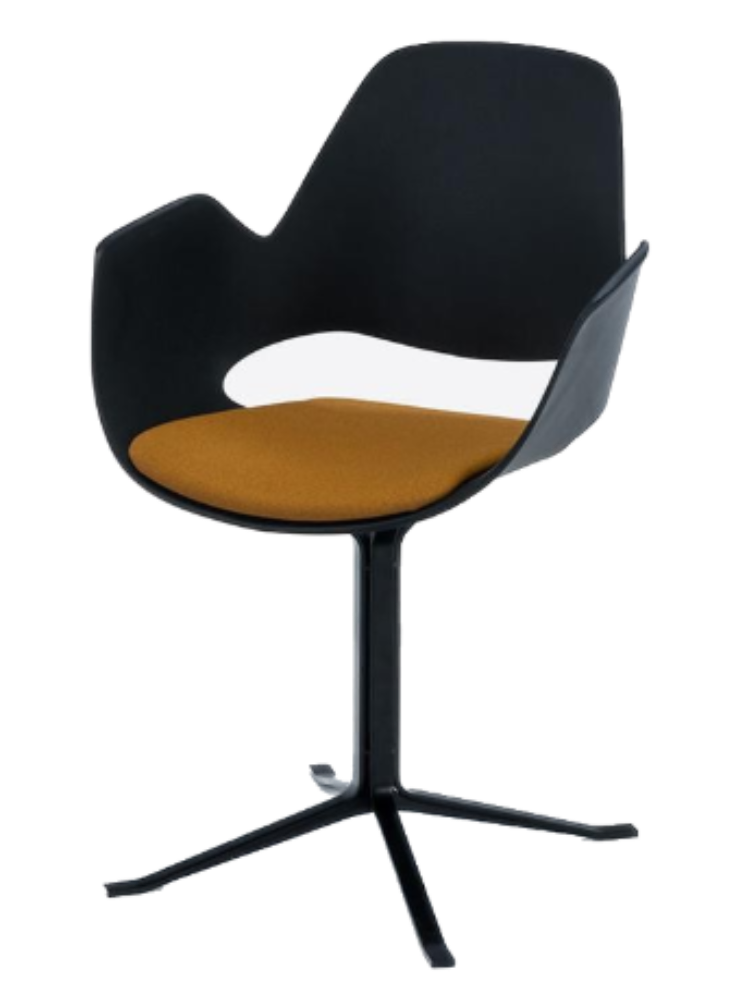 FALK Indoor Dining Armchair - Column Leg