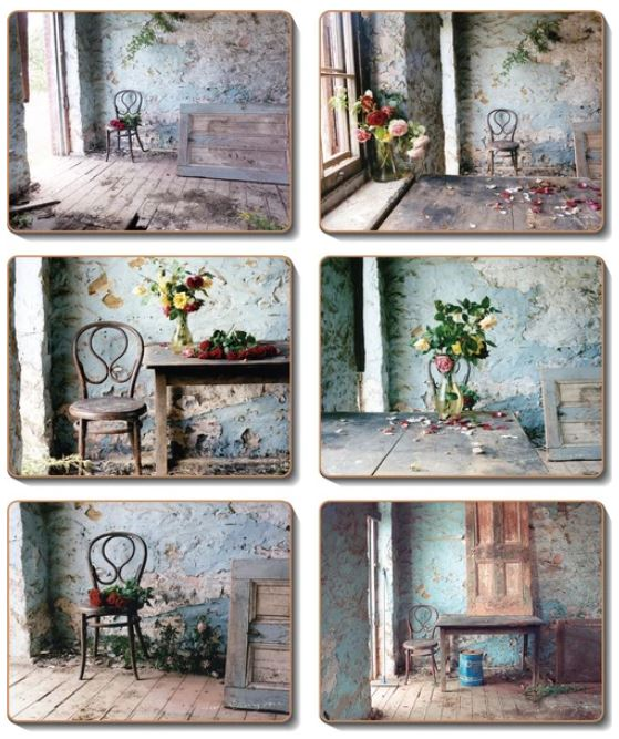 BLUE ROOM Coasters or Placemats