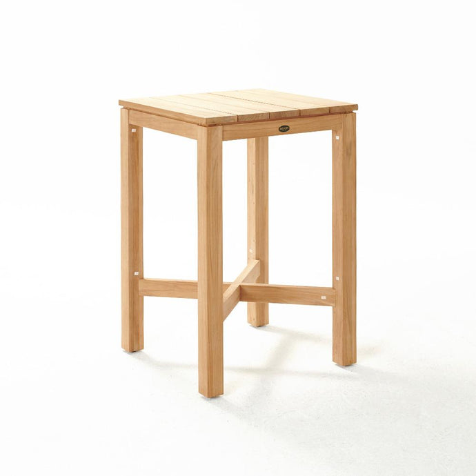 HAAST Bar Table 700w - Teak - Devon Lifestyle
