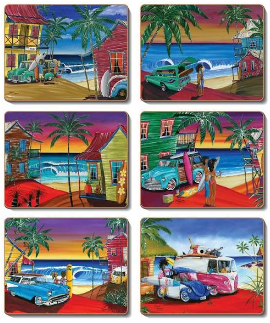 WISH YOU WERE HERE Coasters or Placemats