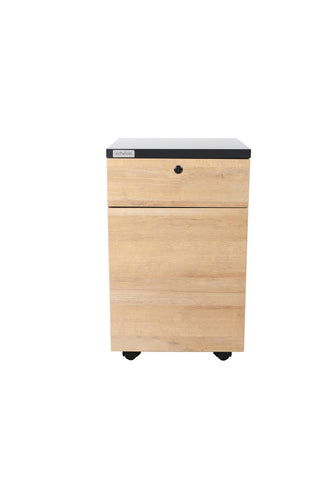 echelon Loft Nightstand Dresser Storage Organizer for all kinds room with 2 Drawers & Solid Top