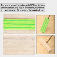 Load image into Gallery viewer, CLEANHOME Washable Mop Pad 5 Pack,Reusable Microfiber Flat Mop Replacement Head,Fit For Wooden Floor,Tile Remove Pet Hairs