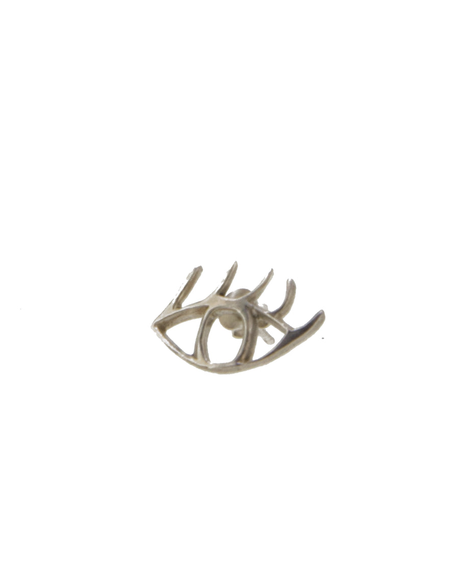 Eye Spy Earring Silver