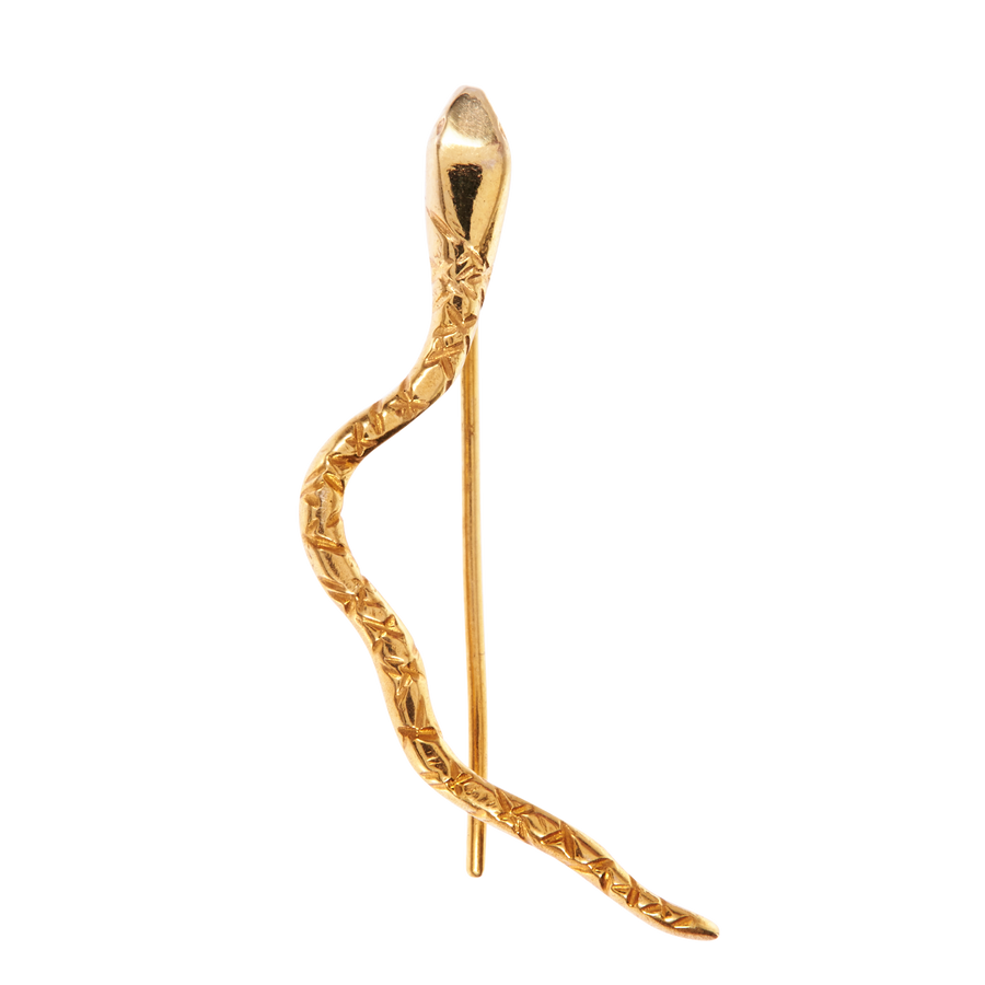 The Serpent Ear Climber Gold