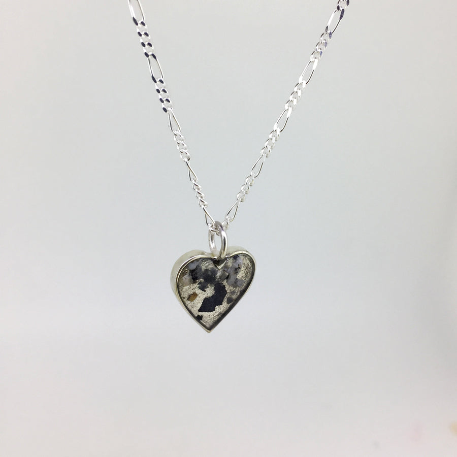 Ashes Heart Pendent Necklace - Custom made